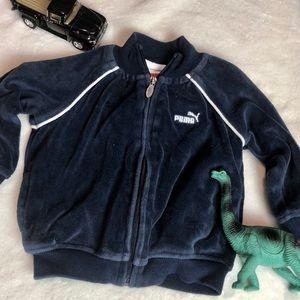 4/25~Puma kids zip up athletic jacket